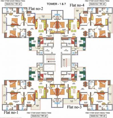 La Residentia Pvt Ltd La Residentia Cluster Plan