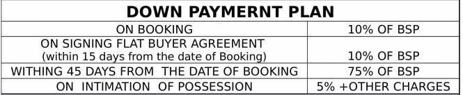 La Residentia Pvt Ltd La Residentia Payment Plan