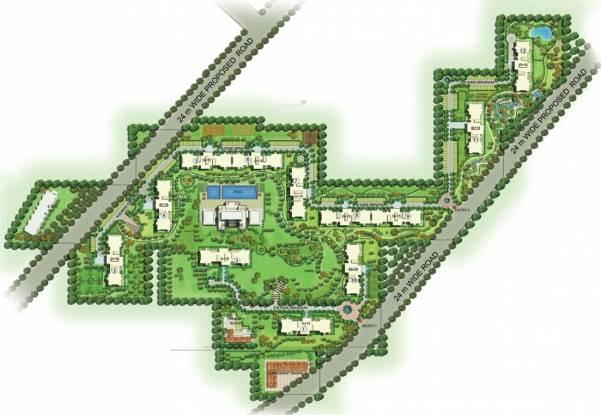 Emaar Palm Gardens Layout Plan