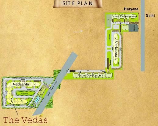 Raheja Vedas Site Plan