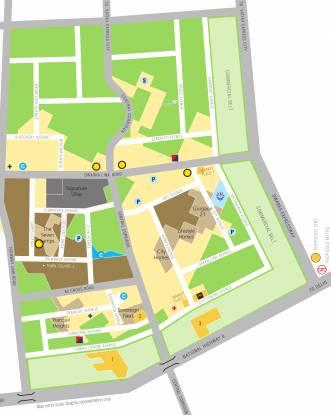 Vatika The Seven Lamps Location Plan