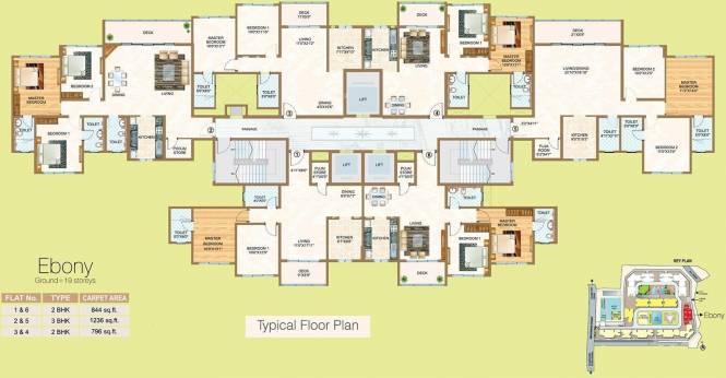 Sheth Vasant Oasis Cluster Plan