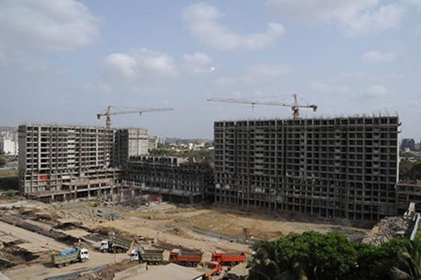 Sheth Vasant Oasis Construction Status