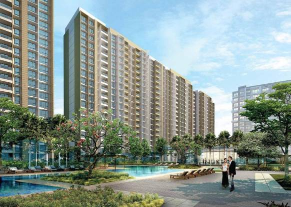 Sheth Vasant Oasis Elevation