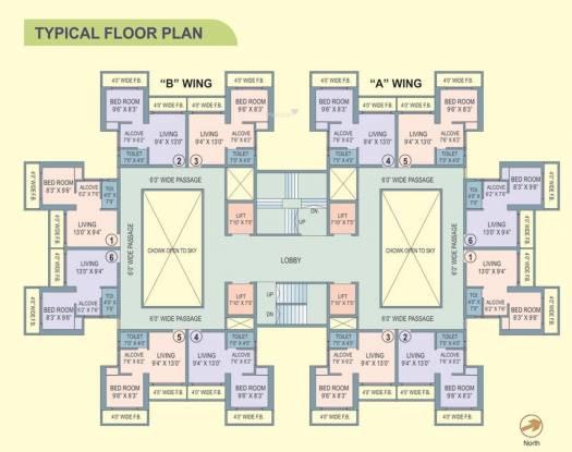 Ravi Gaurav Legend Cluster Plan