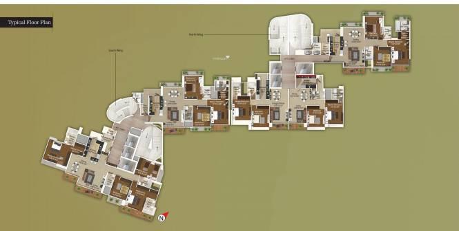 Ajmera Aeon Cluster Plan