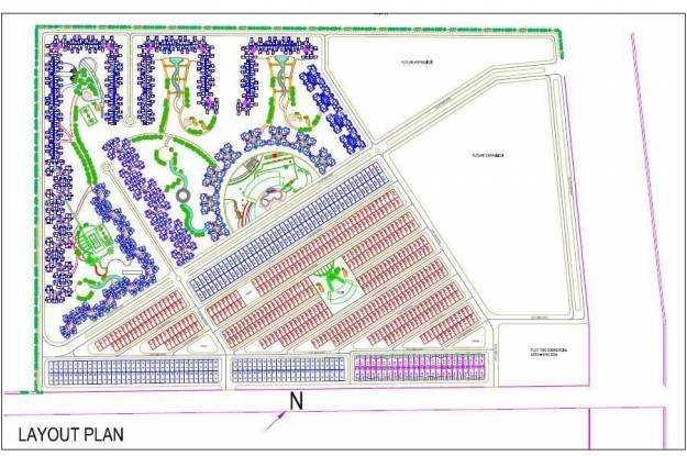 Amrapali Dream Valley Layout Plan