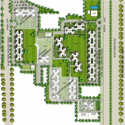 Unitech South Park Site Plan