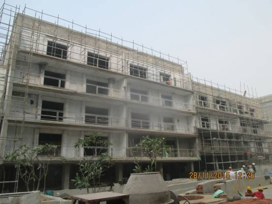 DLF Kings Court Construction Status