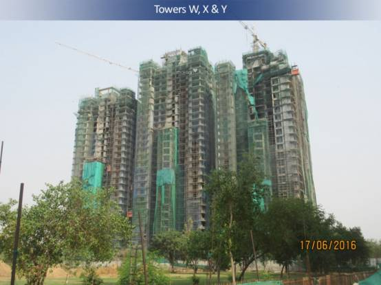 DLF Capital Greens Phase 3 Construction Status