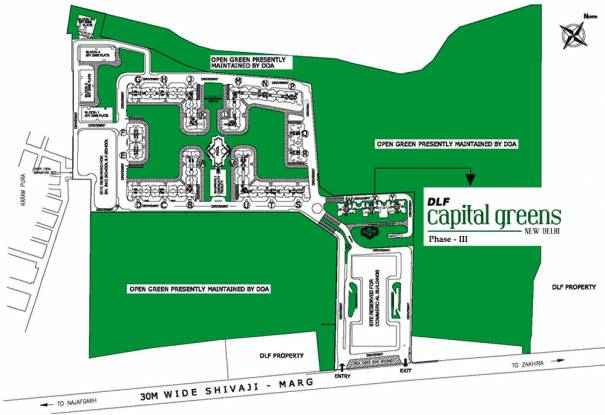 DLF Capital Greens Phase 3 Master Plan