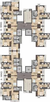 Rustomjee Meridian Cluster Plan