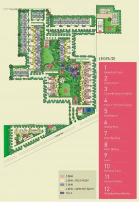 Ansal The Fernhill Master Plan