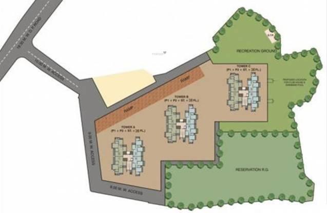 Rustomjee Elanza Layout Plan