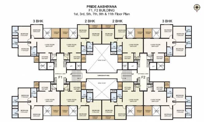 Pride Aashiyana Cluster Plan