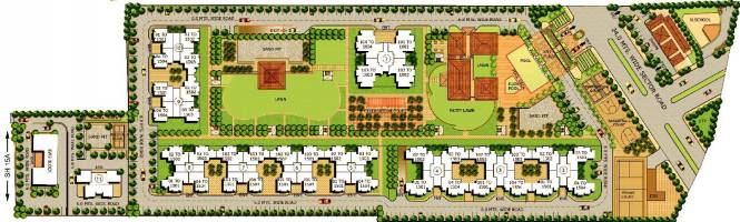 Vipul Lavanya Layout Plan