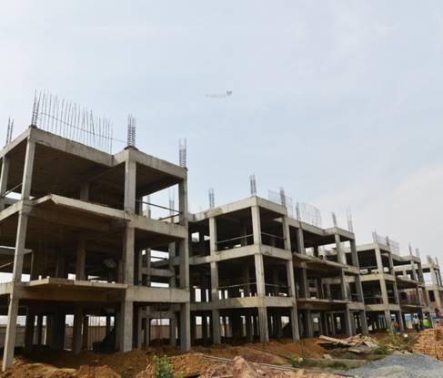 Emaar Emerald Floors Construction Status