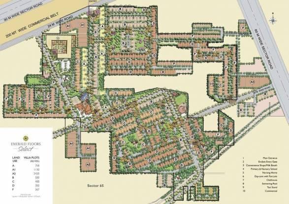 Emaar Emerald Floors Master Plan