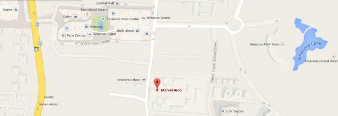 Marvel Arco Location Plan