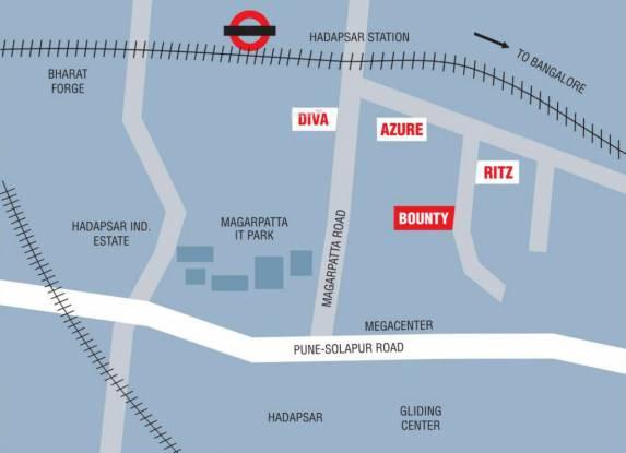 Marvel Bounty Location Plan