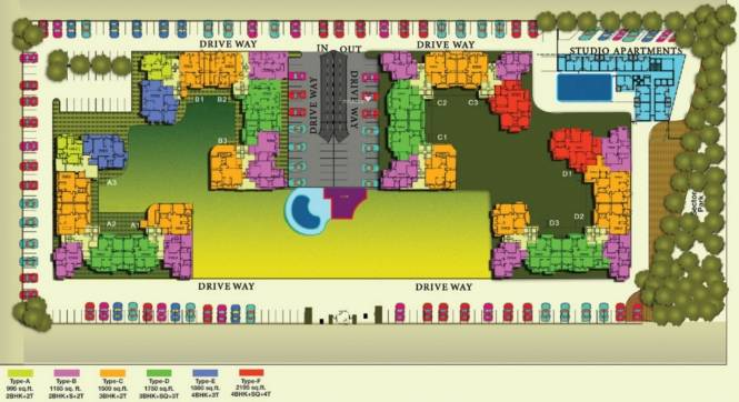 Shubhkamna Tec Homes Layout Plan