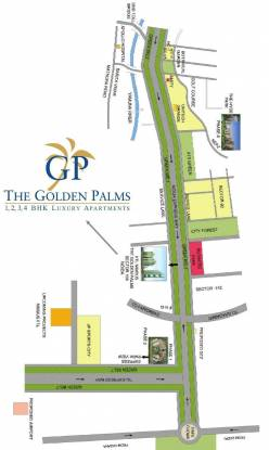 Nimbus The Golden Palms Location Plan