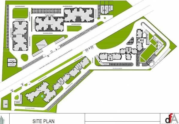Sidharatha NCR Lotus Site Plan