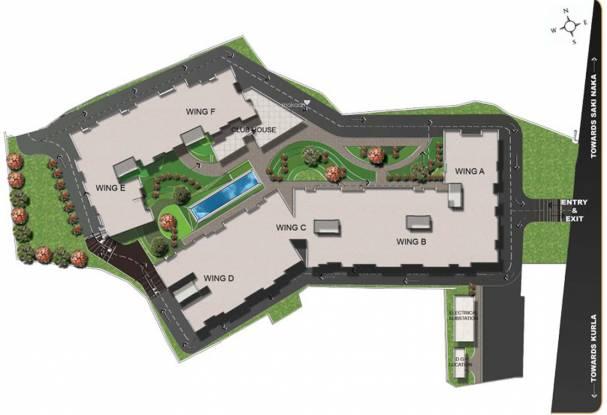 Orbit Residency Park Site Plan