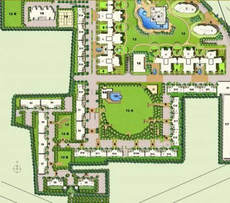 Emaar Palm Terraces Layout Plan