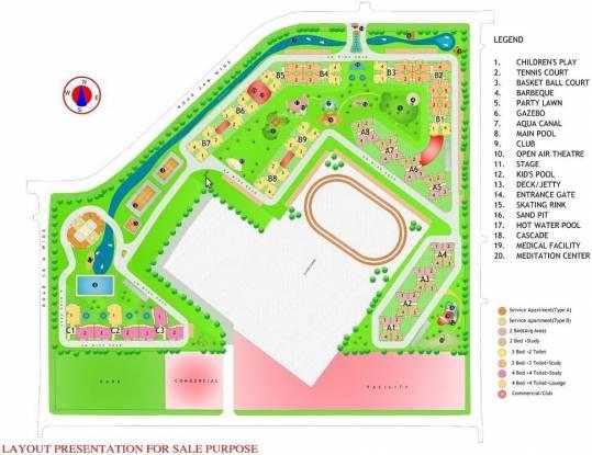 Gardenia Glory Site Plan