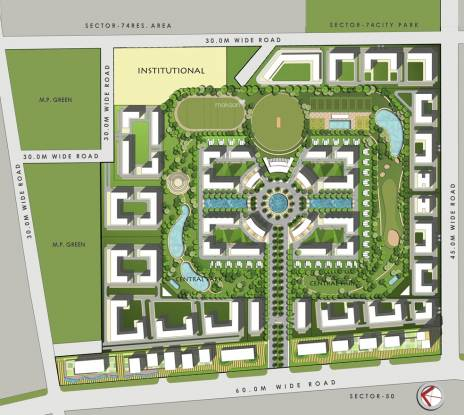 Gardenia Golf City Master Plan
