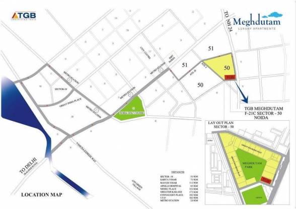 TGB Meghdutam Location Plan