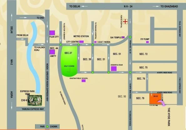 Nimbus Hyde Park Location Plan