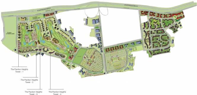 Jaypee Pavilion Heights Site Plan