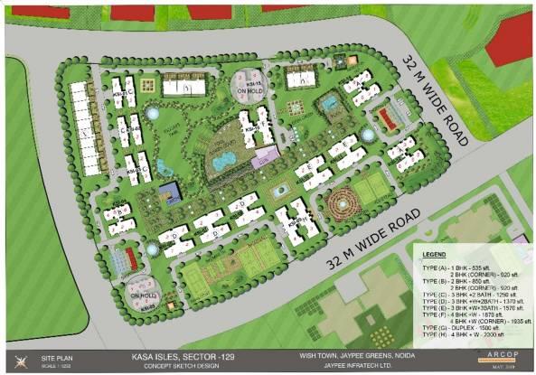 Jaypee Kasa Isles Site Plan