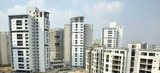 Vatika The Sovereign Apartment Construction Status