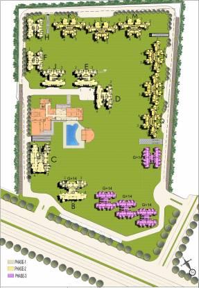 BPTP Park Serene Site Plan