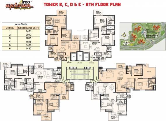 Ireo Uptown Cluster Plan