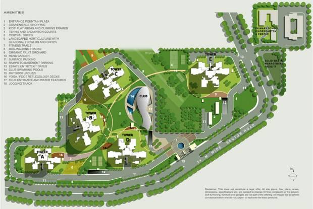 Ireo Uptown Site Plan