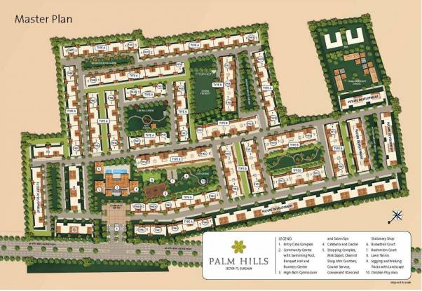 Emaar Palm Hills Master Plan