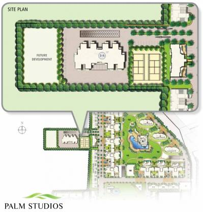 Emaar Palm Studios Site Plan