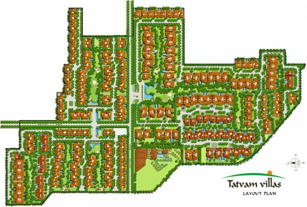 Vipul Tatvam Villas Layout Plan