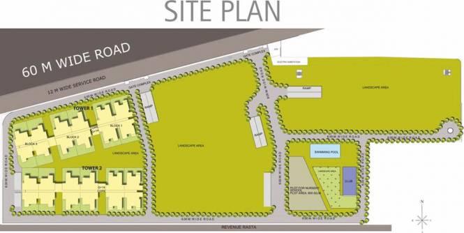 Raheja Sampada Site Plan