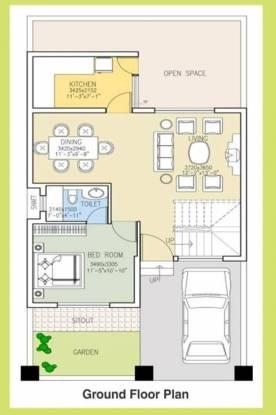 DLF Garden City Cluster Plan