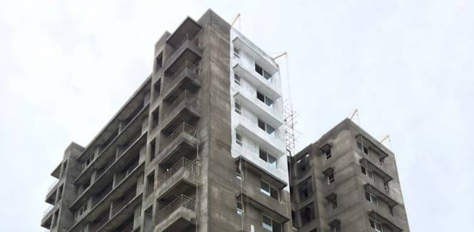 Godrej Garden City Construction Status