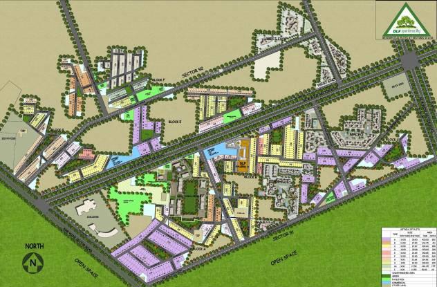 DLF Garden City Plots Site Plan