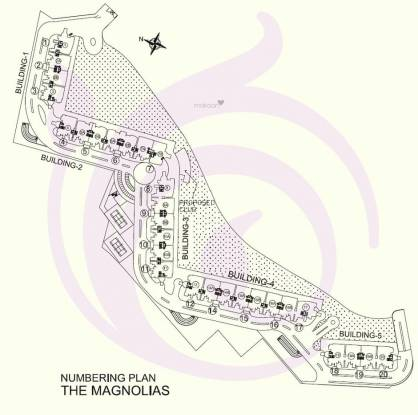 DLF Magnolias Site Plan