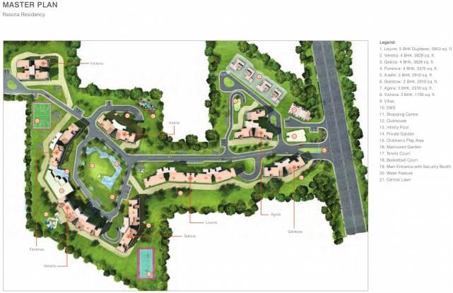 TATA Raisina Residency Master Plan