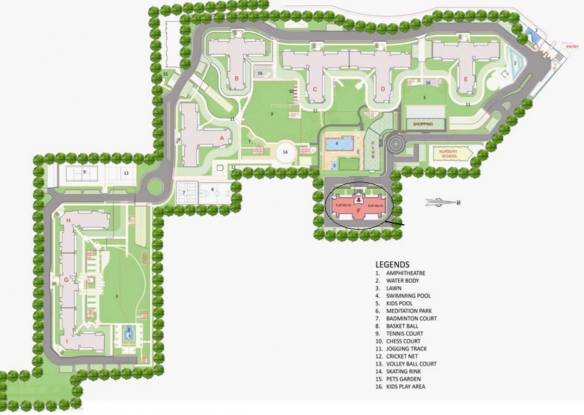 Bestech Park View Spa Master Plan