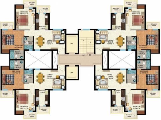 Mapsko Paradise Cluster Plan